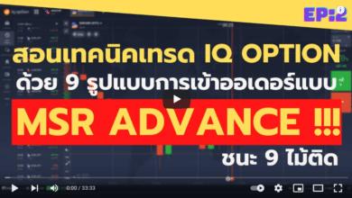 สอนเทรด IQ OPTION ด้วย 9 รูปแบบการเข้าออเดอร์ที่ Advance แบบสุดๆ!