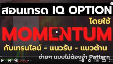 สอนเทรด IQ OPTION โดยดู Momentum