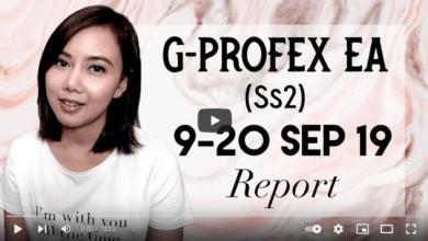 Forex Trading : Report G-Profex EA (SS2) +เทรดมือ 9-20 กันยา 19